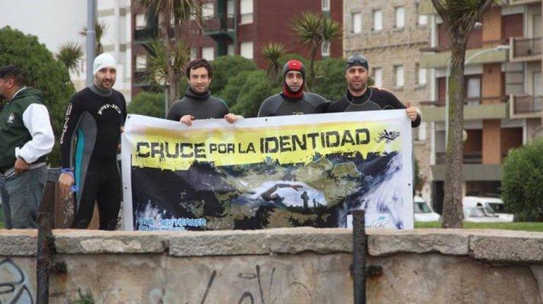 Cruzarán a nado el Estrecho de San Carlos en las Islas Malvinas