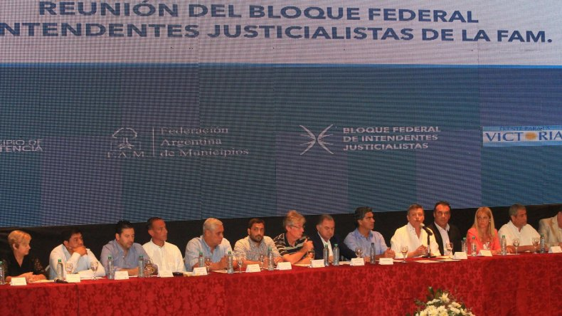 Encuentro Nacional de la Federación Argentina de Municipios.