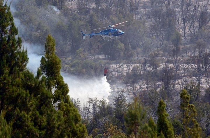 El incendio registrado en el valle El Turbio consumió dos hectáreas y demanda un gran esfuerzo de los brigadistas para llegar a la zona.