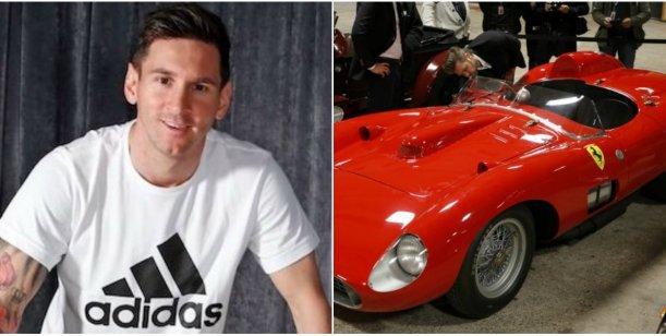 Lionel Messi participó de una subasta y se compró una Ferrari
