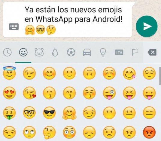 Los nuevos emoticones de WhatsApp ya están disponibles