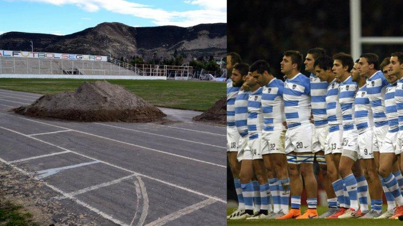 Confirman obras en el Estadio para la llegada de Los Pumas
