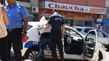 La Policía de la Seccional Primera detuvo al adolescente de 15 años tras una rápida persecución.