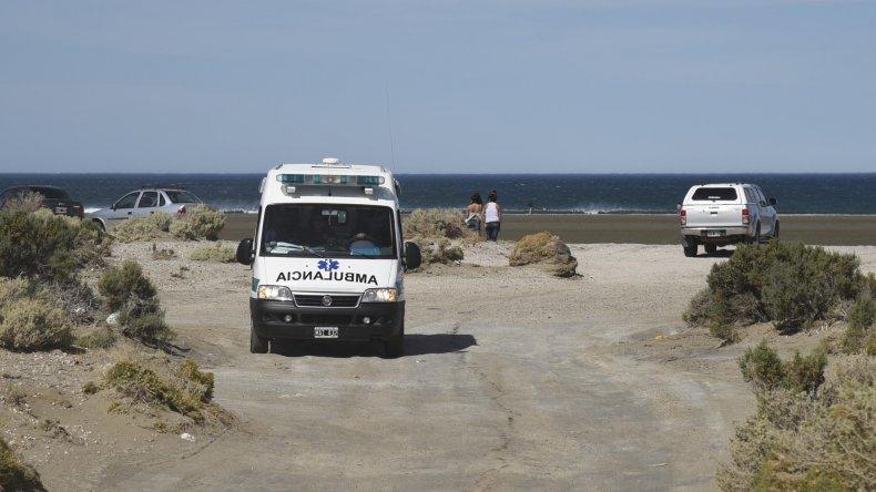 En Playa Bonita los rescatistas estaban atentos y evitaron lo que pudo haber sido una tragedia.