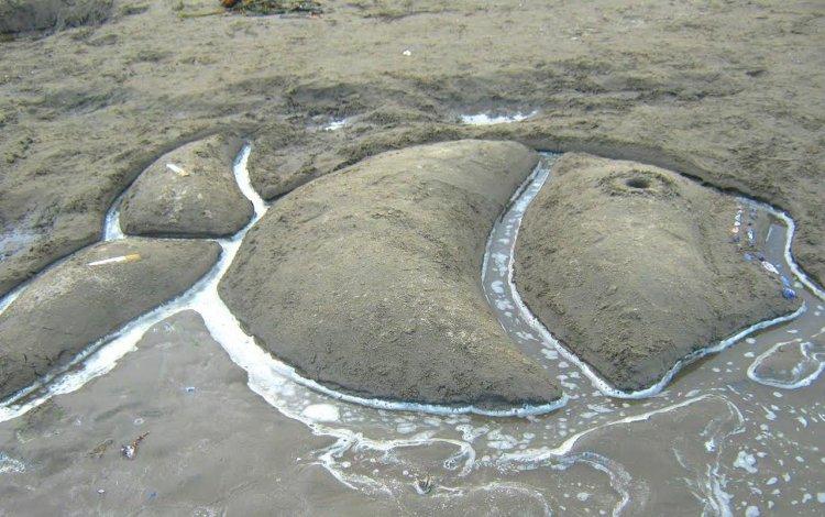 Enarenarte, un encuentro para realizar esculturas y dibujos en la playa