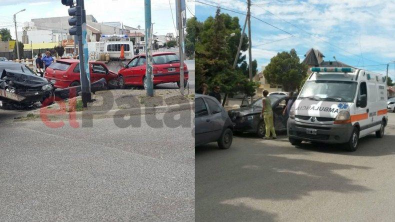 Dos accidentes en el Pueyrredón en menos de una hora