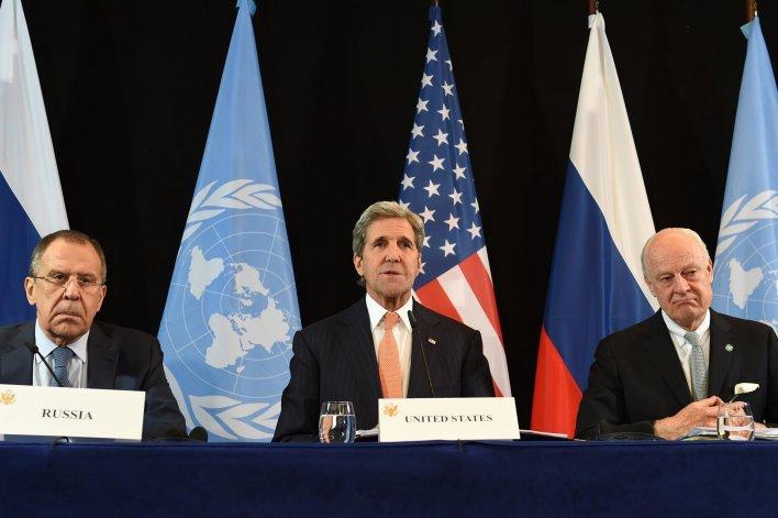 Las potencias apuestan al alto el fuego en Siria al menos por una semana.