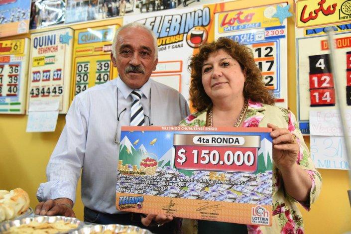 El Telebingo entregó 150 mil pesos