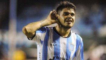 Gustavo Bou, el delantero goleador que tiene Racing.