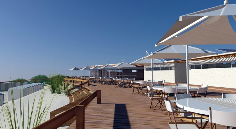 El proyecto contempla la construcción de una moderna y bella rambla ecológica.