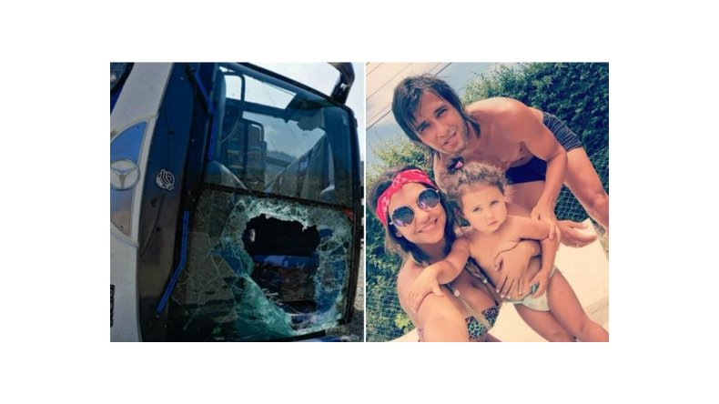 Después del accidente, Toranzo se reencontró con Tamara Alves
