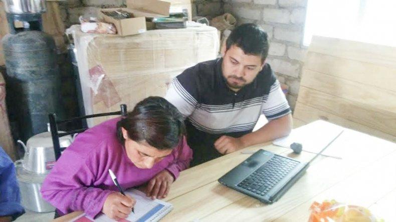 Los productores de Laguna Fría y Chacay Oeste recibieron aportes dentro del proyecto Post emergencia.