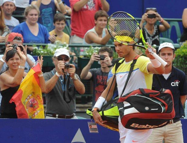 Rafael Nadal no podrá repetir el título que logró en 2015 al quedar eliminado en una de las semifinales del Argentina Open.