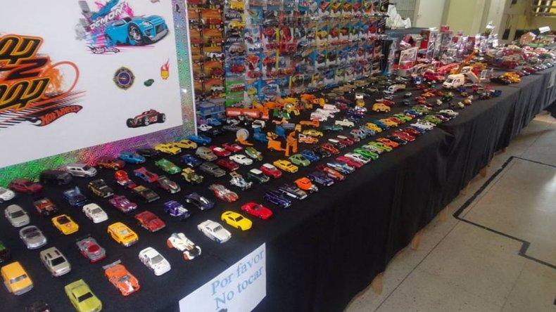 El coleccionista más chico de la Patagonia exhibe más de 2.500 autos