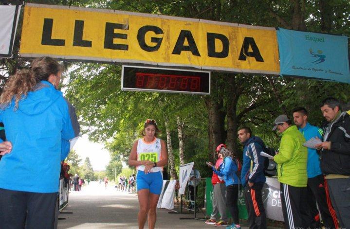 Alejandra Carinao fue la mejor entre las mujeres