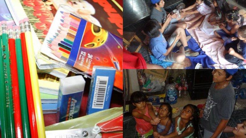 Feliz en tu Día pide la donación de útiles escolares nuevos o usados