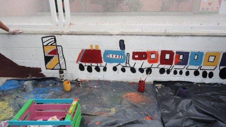 Murales embellecieron el barrio Presidente Ortiz  para celebrar sus 110 años