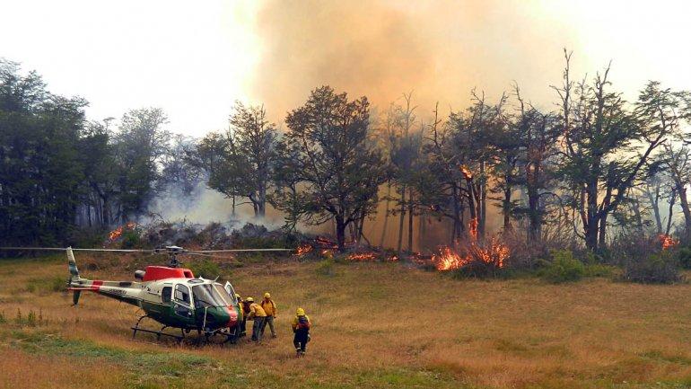¿Cómo está la situación con los incendios en la provincia?
