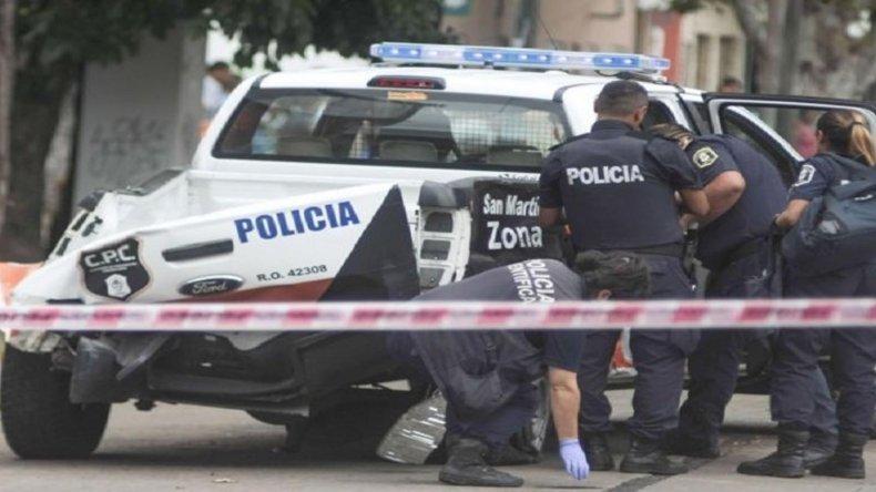Policía conducía un patrullero y atropelló a un chico de 6 años.