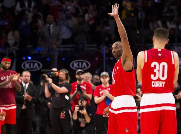 Kobe Bryant disputó su último All Star  en un partido con récord de anotación