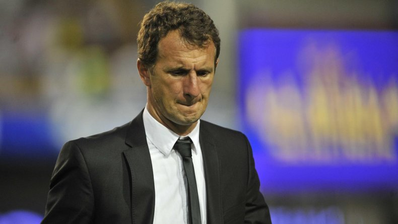 Así terminó el Vasco Arruabarrena tras la derrota que Boca sufrió el domingo ante Atlético Tucumán