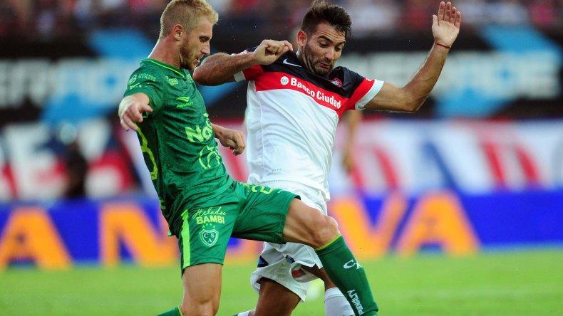 El uruguayo Martín Cauteruccio será uno de los delanteros esta noche en el ataque de San Lorenzo.