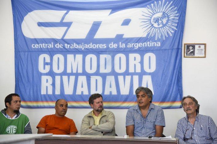 La dirigencia local de representación de gremios nacionales se suma al paro del 24.