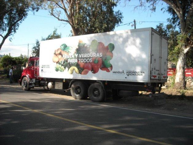 Prohibieron el camión de Frutas y Verduras en Comodoro
