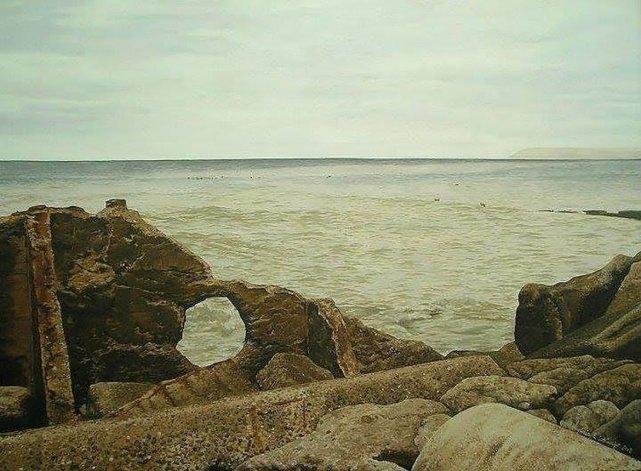 Muestra De lejos y de cerca, una obra con impronta patagónica