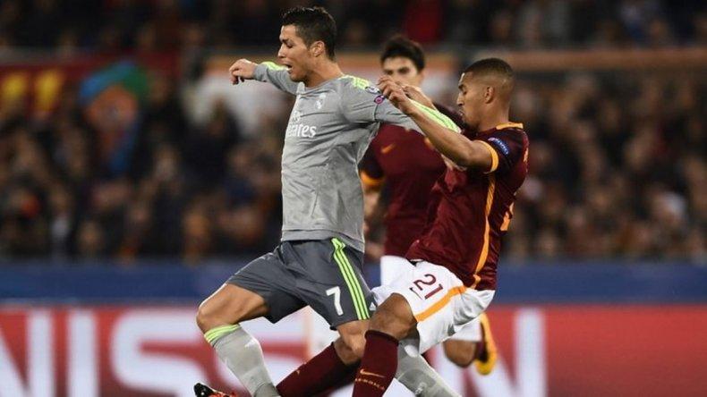 El Real Madrid se quedó con el triunfo en la ida frente a Roma