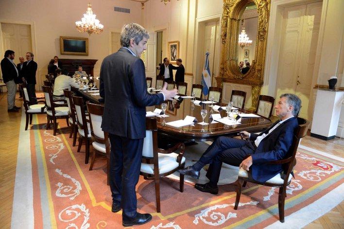 Mauricio Macri encabezó una nueva reunión de gabinete en Casa de Gobierno.