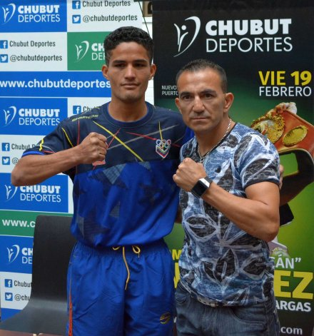 Omar Narváez y Jesús Vargas se vieron las caras en la conferencia de ayer.
