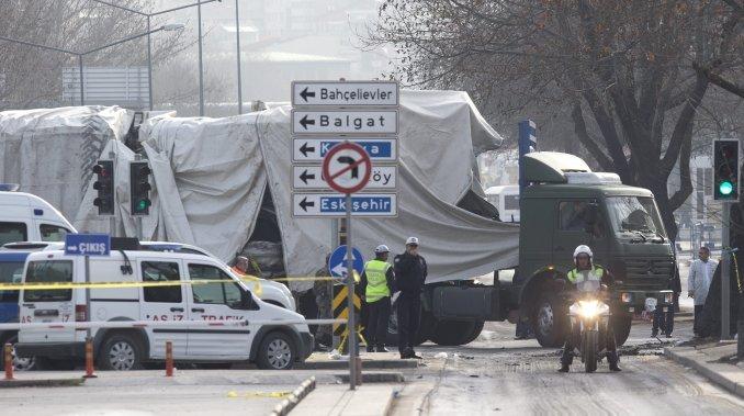 Al menos seis soldados muertos en un nuevo atentado en Turquía