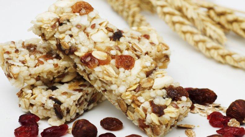 ¿Cómo son las barras de cereales funcionales?
