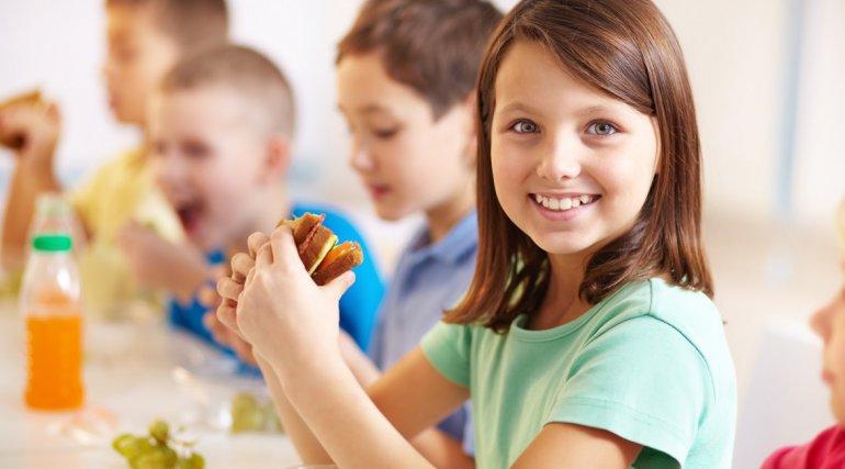 La alimentación y la escuela