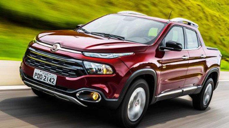 La pick up Fiat Toro puso primera en Brasil