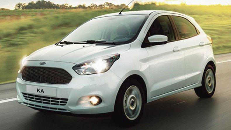 El nuevo Ford Ka ya rueda en Argentina