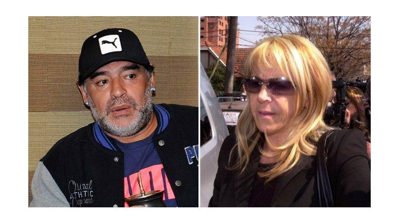 Piden indagar a Claudia Villafañe por fraude a Maradona