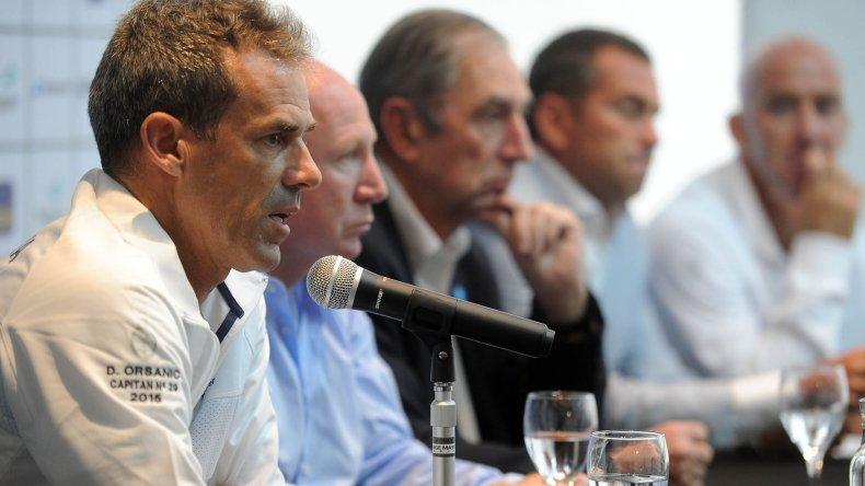 Daniel Orsanic durante la conferencia de prensa que brindó ayer en el CeNARD.