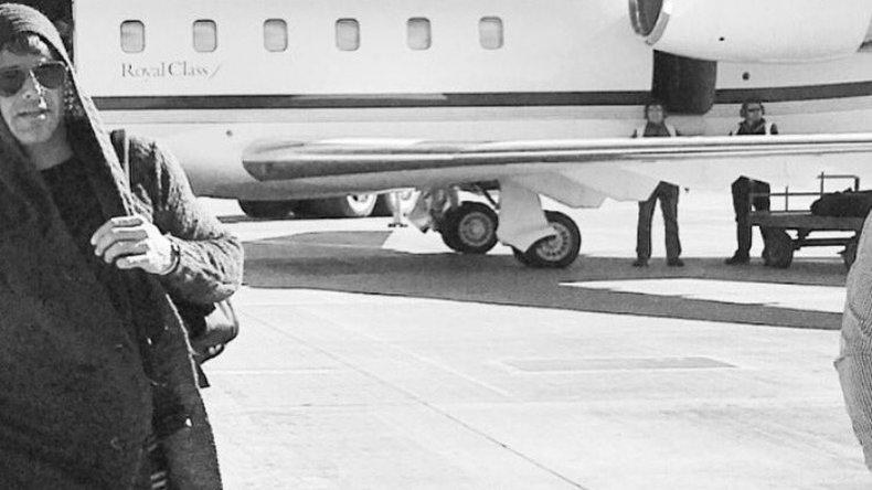 Ricky Martin ya llegó a la Patagonia y esta noche hará delirar a sus fans