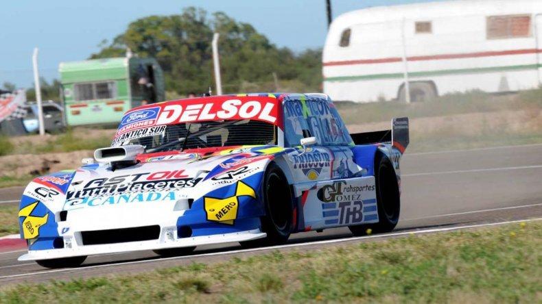 El Ford de Marcelo Agrelo espera hoy terminar un fin de semana redondo cuando se corra la primera final del año.