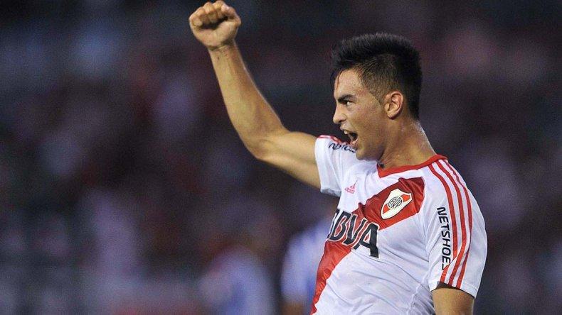 Gonzalo Martínez viene de marcar un golazo en la derrota ante Godoy Cruz.
