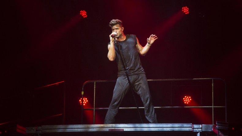 Ricky Martin brilló en la Fiesta Nacional del Lago