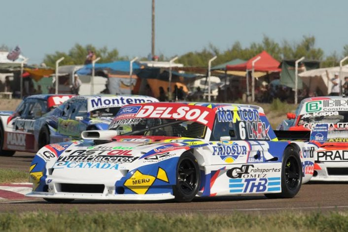 Marcelo Agrelo se subió al podio  en la primera fecha del TC Pista