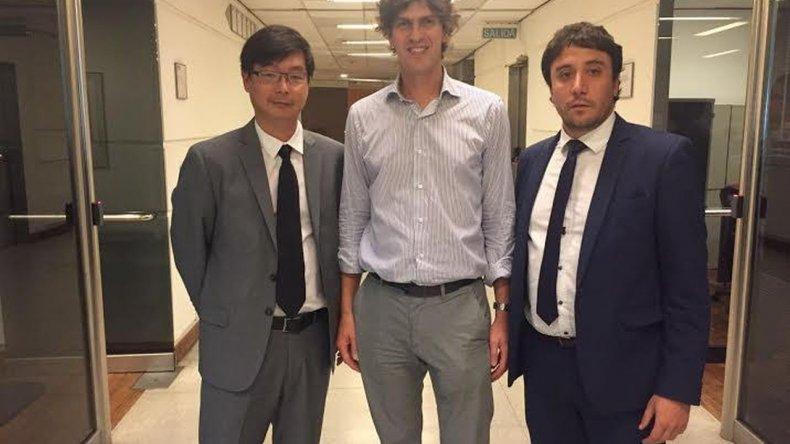 Gilardino se reunió con Lousteau en busca del desarrollo de productos en Estados Unidos