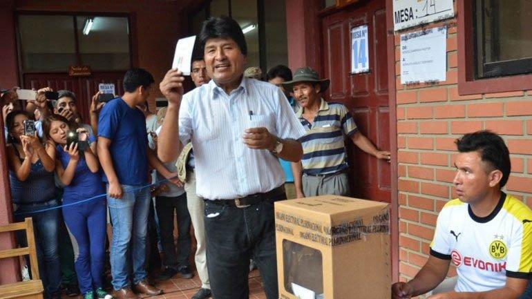 Referéndum en Bolivia: se impone el No y Evo no será candidato.