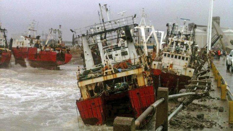 La justicia de Puerto Madryn investiga las responsabilidades por los destrozos a los barcos de Alpesca
