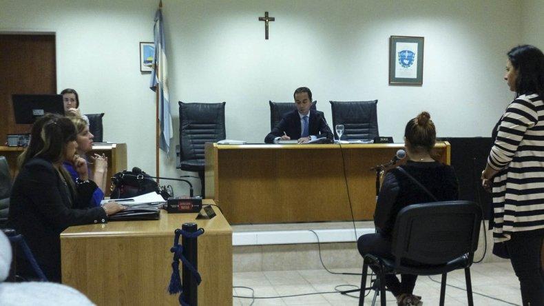 Laura Berro le pidió al juez Mariano Nicosia que no suelte a Nahir Quinteros porque teme que le haga daño a su hijo. Transita el séptimo mes de embarazo.