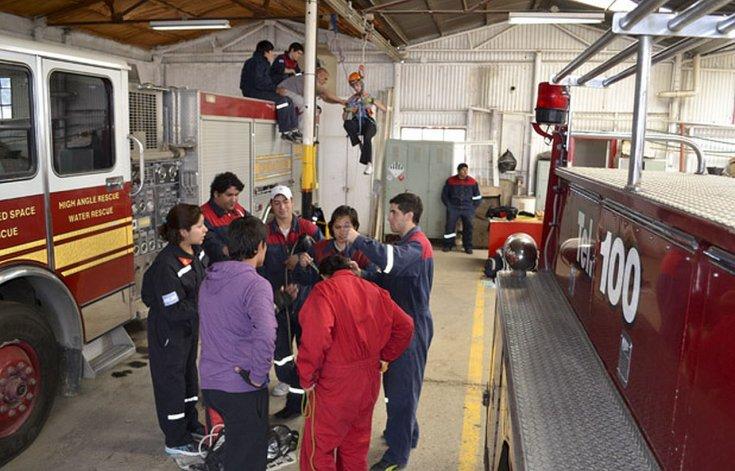 Convocan a jóvenes que quieran ser Bomberos Voluntarios