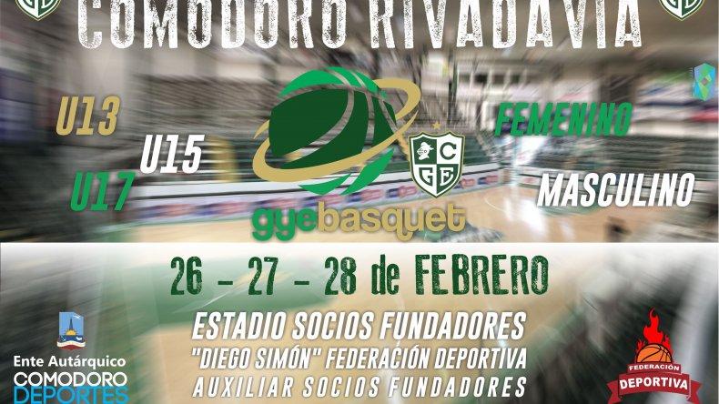 El fin de semana se jugará el  Torneo Aniversario Comodoro Rivadavia